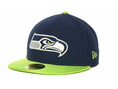 Seattle Seahawks NFL Jersey Basic 59FIFTY Cap Hats