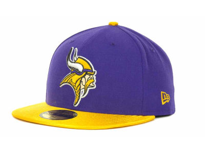 Minnesota Vikings NFL Jersey Basic 59FIFTY Cap Hats