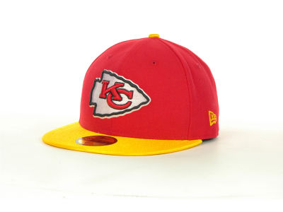 Kansas City Chiefs NFL Jersey Basic 59FIFTY Cap Hats