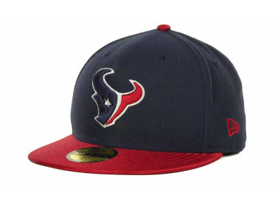 Houston Texans NFL Jersey Basic 59FIFTY Cap Hats