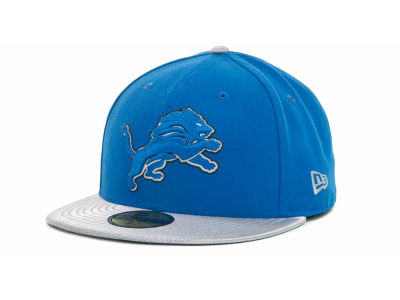 Detroit Lions NFL Jersey Basic 59FIFTY Cap Hats