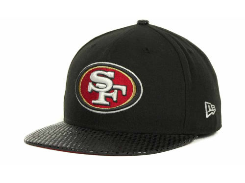 San Francisco 49ers New Era NFL Tonal Dot Visor 59FIFTY Cap Hats