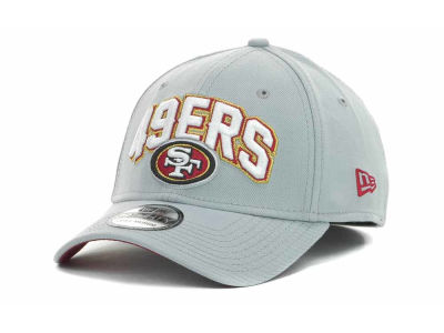 San Francisco 49ers NFL 2012 Draft Gray 39THIRTY Cap Hats