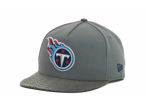 Tennessee Titans New Era NFL Snake Strapback 9FIFTY Cap Hats