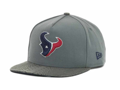 Houston Texans NFL Snake Strapback 9FIFTY Cap Hats