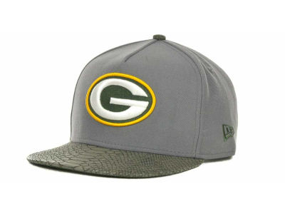Green Bay Packers NFL Snake Strapback 9FIFTY Cap Hats