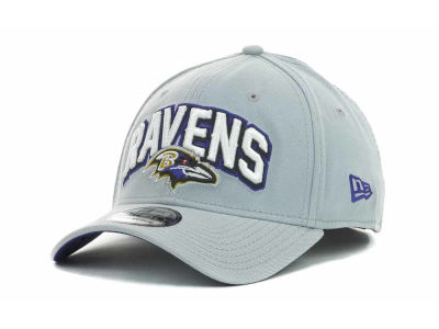 Baltimore Ravens NFL 2012 Draft Gray 39THIRTY Cap Hats