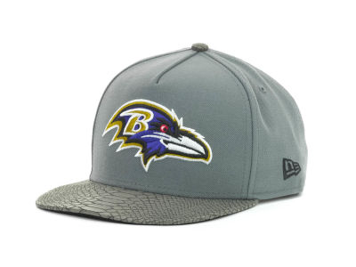 Baltimore Ravens NFL Snake Strapback 9FIFTY Cap Hats