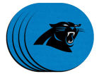 Carolina Panthers 4-pack Neoprene Coaster Set Kitchen & Bar