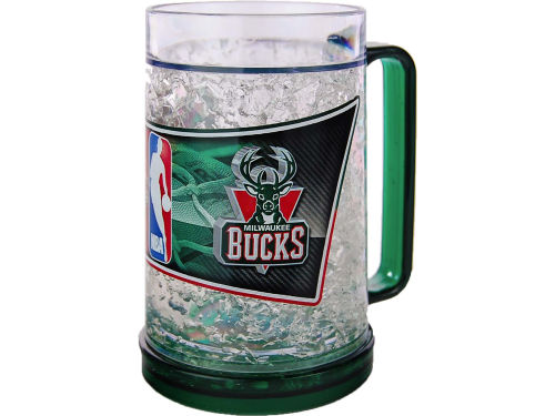 Milwaukee Bucks Crystal Freezer Mug