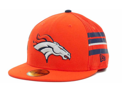 Denver Broncos NFL Jersey Stripe 59FIFTY Cap Hats