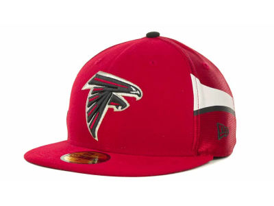 Atlanta Falcons NFL Jersey Stripe 59FIFTY Cap Hats