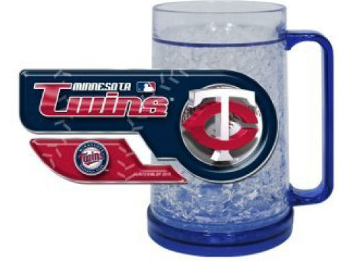 Minnesota Twins Crystal Freezer Mug