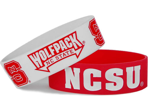 North Carolina State Wolfpack Aminco Inc. 2-pack Wide Bracelet