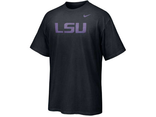 LSU Tigers Nike NCAA Chrome Logo T-Shirt