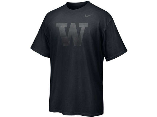 Washington Huskies Nike NCAA Chrome Logo T-Shirt