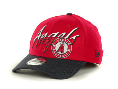 Los Angeles Angels of Anaheim MLB Double Edge Classic 39THIRTY Cap Hats
