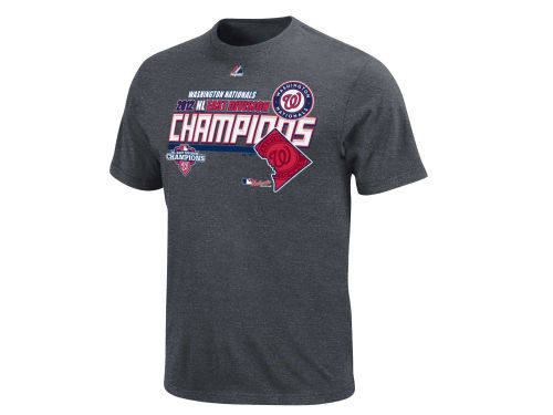 Washington Nationals Majestic MLB Division Champ T-Shirt 2012