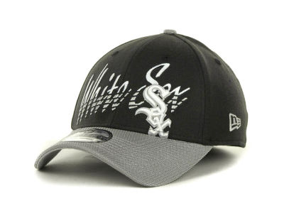 Chicago White Sox MLB Double Edge Classic 39THIRTY Cap Hats