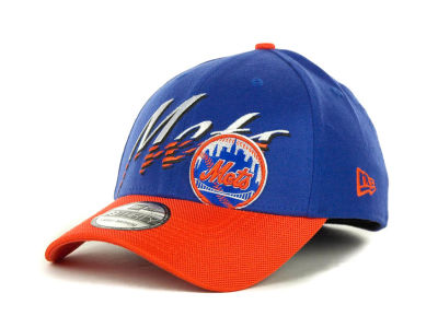 New York Mets MLB Double Edge Classic 39THIRTY Cap Hats