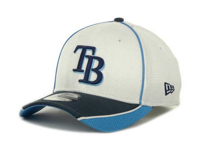 Tampa Bay Rays MLB Abrasion Plus 39THIRTY Cap Hats