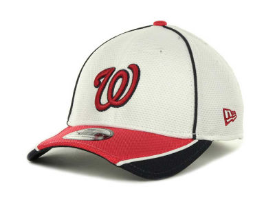 Washington Nationals MLB Abrasion Plus 39THIRTY Cap Hats