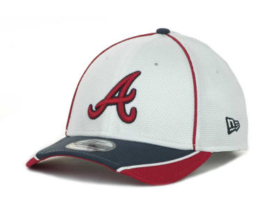 Atlanta Braves MLB Abrasion Plus 39THIRTY Cap Hats