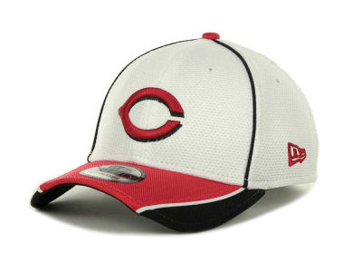 Cincinnati Reds MLB Abrasion Plus 39THIRTY Cap Hats