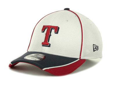 Texas Rangers MLB Abrasion Plus 39THIRTY Cap Hats