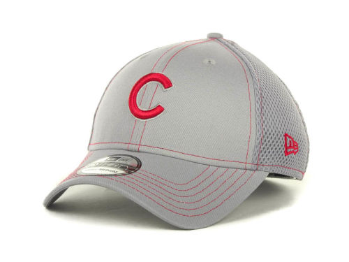 Chicago Cubs New Era MLB Gray Neo 39THIRTY Cap Hats