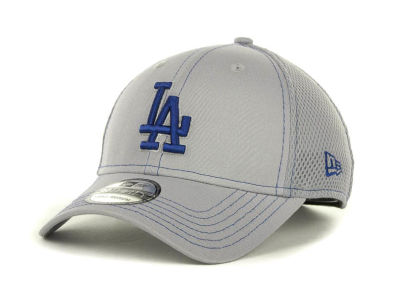 Los Angeles Dodgers MLB Gray Neo 39THIRTY Cap Hats