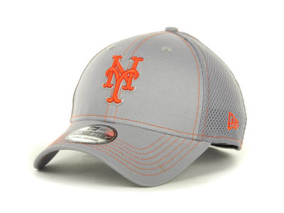 New York Mets MLB Gray Neo 39THIRTY Cap Hats