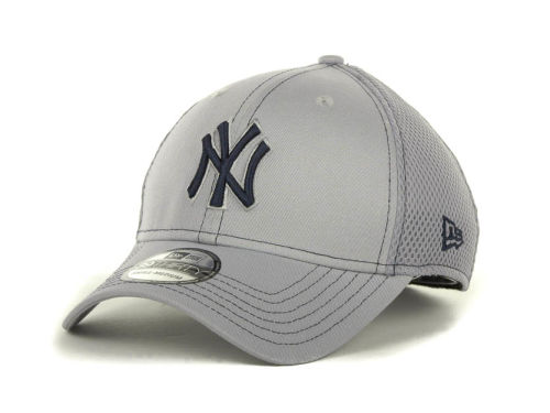 New York Yankees New Era MLB Gray Neo 39THIRTY Cap Hats
