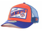 New York Mets New Era MLB 18 Wheeler 9FORTY Cap Adjustable Hats