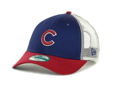 Chicago Cubs MLB Mesh Mode 2 9FORTY Cap Hats