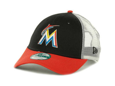 Miami Marlins MLB Mesh Mode 2 9FORTY Cap Hats