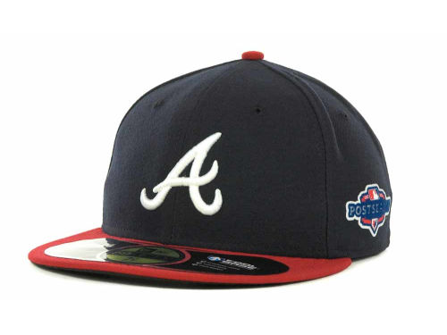 Atlanta Braves New Era 2012 MLB Post Season Patch 59FIFTY Cap Hats
