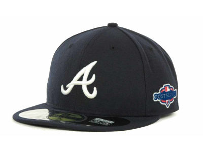 Atlanta Braves 2012 MLB Post Season Patch 59FIFTY Cap Hats