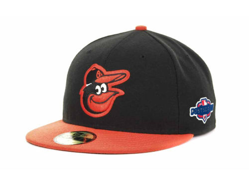 Baltimore Orioles New Era 2012 MLB Post Season Patch 59FIFTY Cap Hats