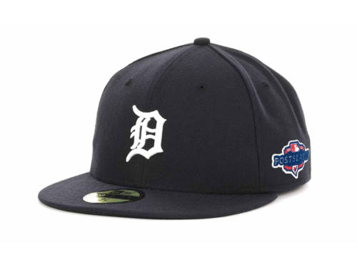 Detroit Tigers New Era 2012 MLB Post Season Patch 59FIFTY Cap Hats