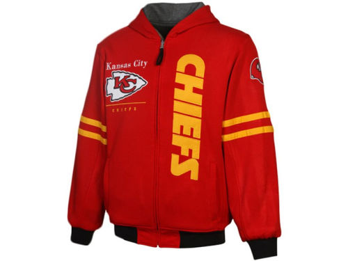 Kansas City Chiefs NFL Dual Edge Reversible Hoodie 2