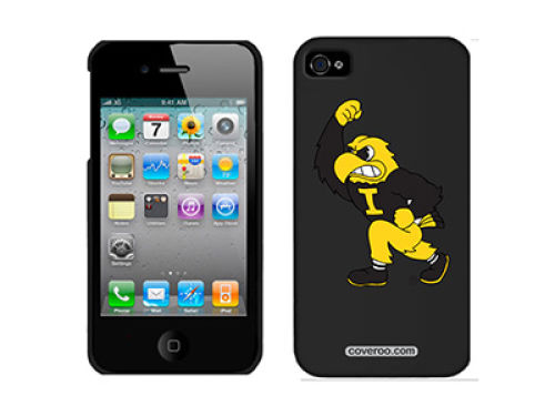 Iowa Hawkeyes Coveroo Iphone 4 Snap On
