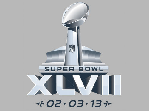 Super Bowl XLVII Rico Industries Super Bowl XLVII Small Static Cling