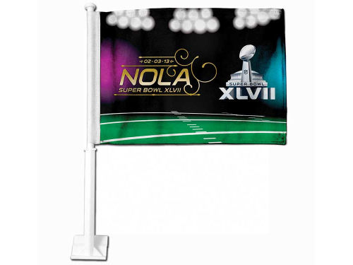 Super Bowl XLVII Rico Industries Super Bowl XLVII Car Flag