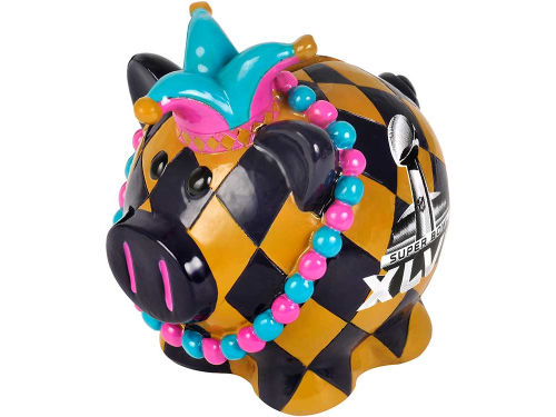 Super Bowl XLVII NFL Super Bowl XLVII Small Thematic Pig