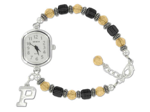 Purdue Boilermakers Crystal Watch