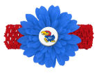 Kansas Jayhawks Flower Head Band Headbands & Wristbands