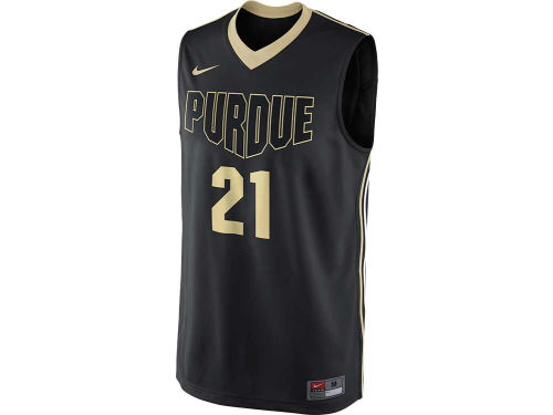 Purdue Boilermakers #21 Nike NCAA Replica Basketball Jersey