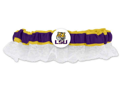 LSU Tigers Womens Lace Garter