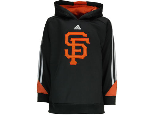 San Francisco Giants adidas MLB Youth Long Sleeve Popover Hoodie